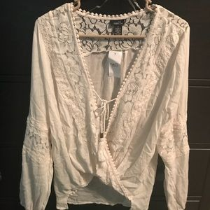 Lace Coverup